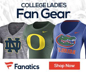 College Ladies Gear at Fanatics.com