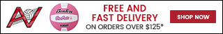 Free Shipping on Orders $125+ Every Day at AllVolleyball.com