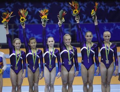 US Womens Gymnastics Team Wins Gold at Pan Ams