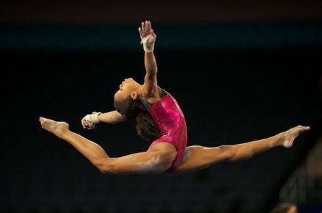 Gabrielle Gabby Douglas Olympic hopeful