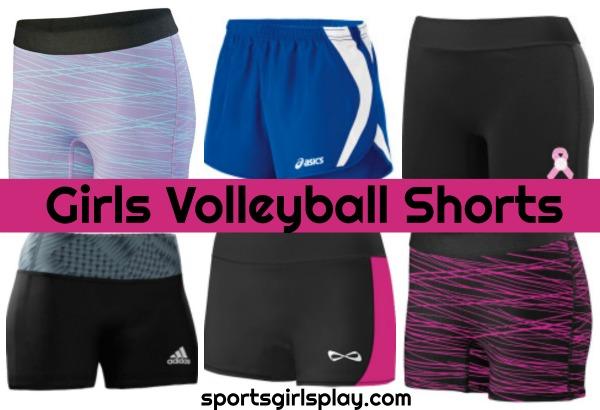 Girls volleyball shorts