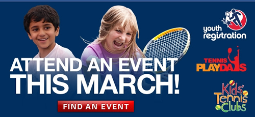 March Into Tennis