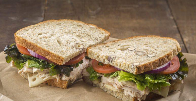 turkey sandwich post workout