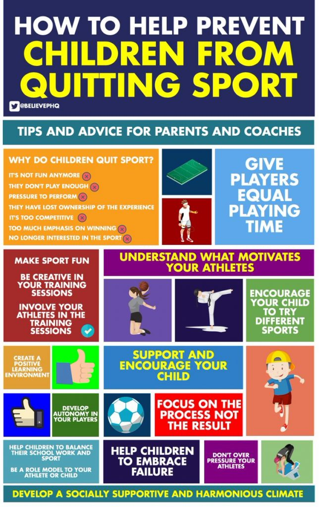 Ways to Encourage Kids to Stay in Sports